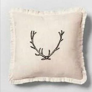 Magnolia Hearth & Hand Antler Throw Pillow